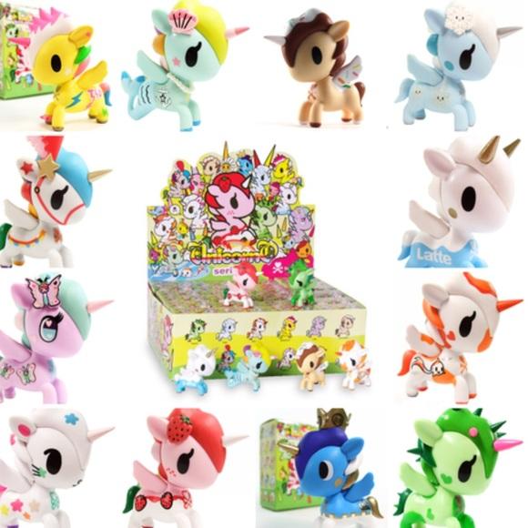Designer & Urban Vinyl Toys & Hobbies Unicorno Series 4 Tokidoki